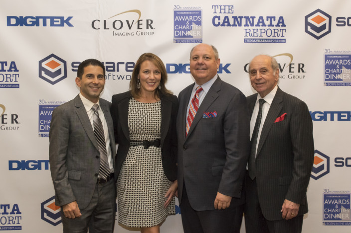 CJ Cannata, SVP, Brand Strategy and Development, The Cannata Report; Laura Blackmer, SVP, Sales, Sharp Imaging and Information Company of America, Inc.; Rick Taylor, President and COO, Konica Minolta Business Solutions U.S.A., Inc.; Frank G. Cannata, Founder and President, The Cannata Report