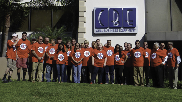 The CBE team reflects the diversity found in Southern California.
